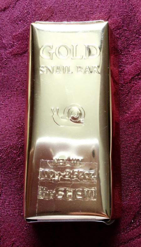 Мыло с экстрактом золота и муцина улитки Snail 100 Gold Snail Bar от The Saem
