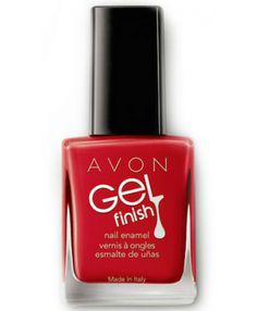 Лак для ногтей Gel Finish (оттенок Roses are red) от Avon