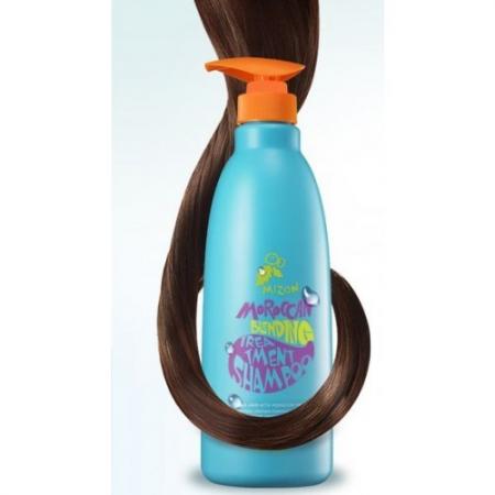 Шампунь-бальзам Moroccan Blending Treatment Shampoo от Mizon