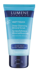 Глубоко очищающий скраб для лица с минералами Matt Touch от Lumene