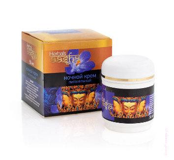 Крем для лица Ночной питательный от Aasha Herbal`s