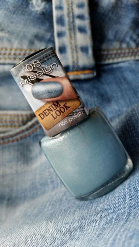 Лак для ногтей (оттенок № 08 DENIM LOOK) от MissLyn