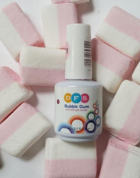 Гель-лак для ногтей Bubble Gum (оттенок № 091 Yana) от DutyFreeSalon
