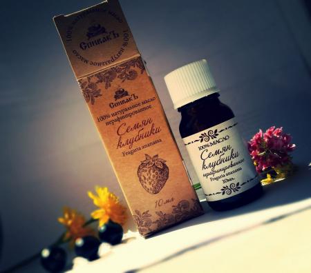Масло семян клубники нерафинированное от Спивакъ
