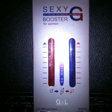 Парфюм musk-G mix и Ambre-G mix с феромонами от Sexy Booster-G
