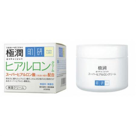 Гиалуроновый увлажняющий крем для лица GOKUJYUN Moisturizing Cream от Hada Labo