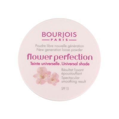 Прозрачная рассыпчатая пудра Flower Perfection от Bourjois