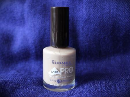 Лак для ногтей LycraPro (оттенок № 367 Bare necessities) от Rimmel