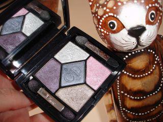 Весенняя коллекция 2010 от Dior - Lacy Beauty Collection, свотчи теней Pearl Glow 059