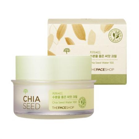 Увлажняющий крем для лица Chia Seed Moisture-Holding Seed Cream от The Face Shop