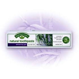 "Гелевая зубная паста ""Отбеливающая"" Whitening Gel Natural Toothpaste от Nature's Gate"