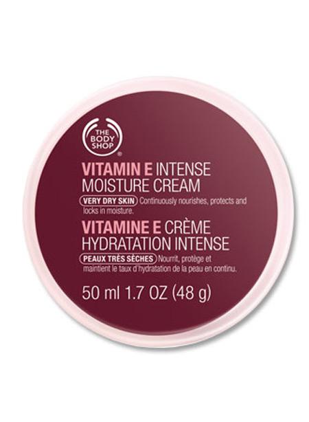 Крем интенсивный увлажняющий для лица Витамин Е от The Body Shop