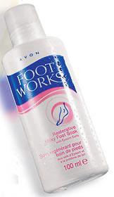 """Средство для ножных ванночек """"Молоко"""" Restorative Milky Foot Soak от Avon"""