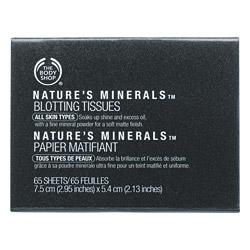 Матирующие салфетки Nature's Minerals Blotting Tissues от The Body Shop