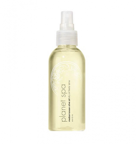 Увлажняющее масло-спрей для тела с оливковым маслом Planet Spa от Avon