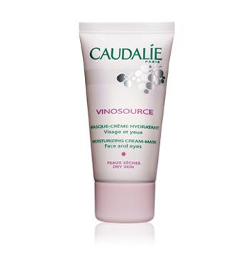 Увлажняющая маска-крем для лица и глаз  Vinosource от Caudalie