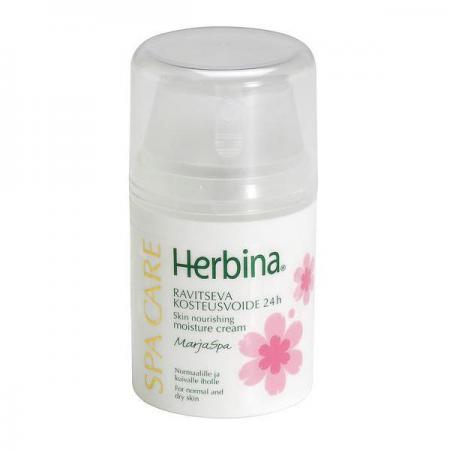 Балансирующий увлажняющий крем для лица BerrySpa от Herbina