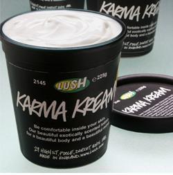Крем для тела Карма (Karma Kream) от Lush