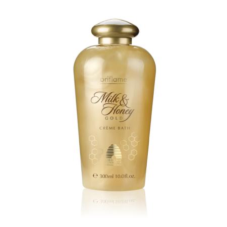 Крем-пена для ванн Молоко и мед Золотая серия от Oriflame
