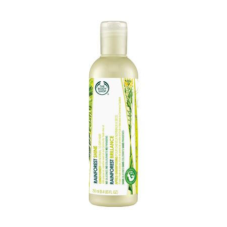 Кондиционер-блеск для волос Тропический лес Rainforest Shine Conditioner от The Body Shop