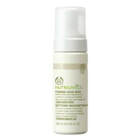 Пенка для умывания Nutriganics Foaming Face Wash от The Body Shop