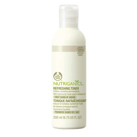 Освежающий тоник для лица Nutriganics Refreshing Toner от The Body Shop
