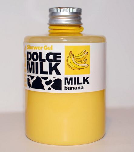 """Гель для душа """"Банановый"""" от Dolce Milk"""