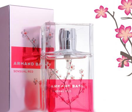 Женский аромат Sensual Red от Armand Basi