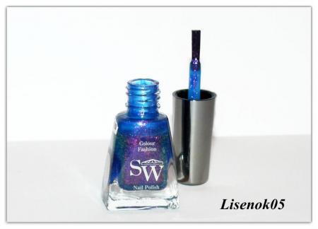 """Лак для ногтей из коллекции """"Brilliant"""" (оттенок № 1014) от SW"""