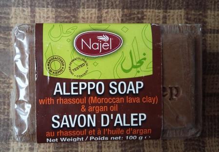 Мыло аллепское с вулканической глиной рассул от Najel