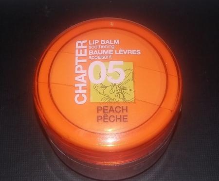 Бальзам для губ Chapter 05 Персик от Mades Cosmetics