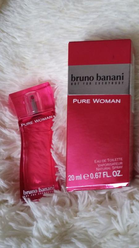 Туалетная вода Pure woman от Bruno Banani (1)