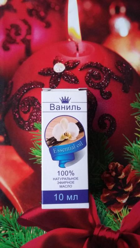 """100% натуральное масло """"Ваниль"""" от Сибирь намедойл"""
