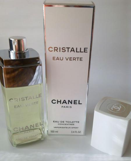 Концентрированная туалетная вода Cristalle Eau Verte от Chanel