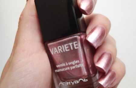 Лак для ногтей Variete (оттенок № 407 Cabaret Rose) от Л'Этуаль