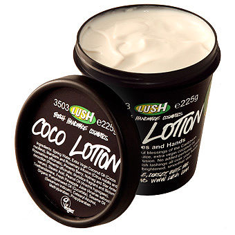 Крем для рук и тела Кокос от Lush