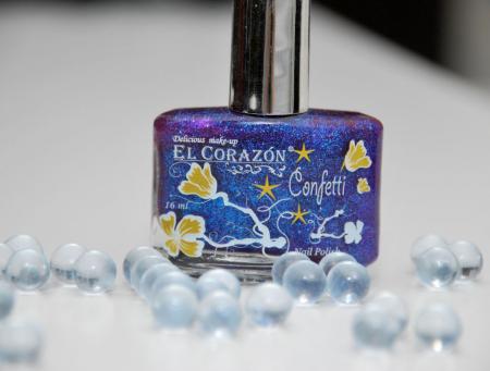 Лак для ногтей Confetti (оттенок № 529a) от El Corazon
