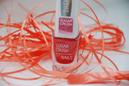 Лак для ногтей Sugar Crush (оттенок № 122 Love Crush) от IsaDora