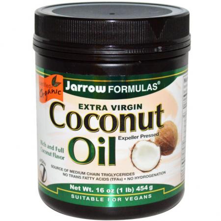 Кокосовое масло от Jarrow Formulas