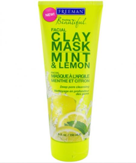 """Глиняная маска для лица """"Мята и Лимон"""" от Freeman"""