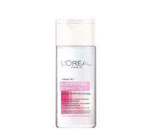 """Очищающая мицеллярная вода для лица """"Абсолютная нежность"""" от L'Oreal"""