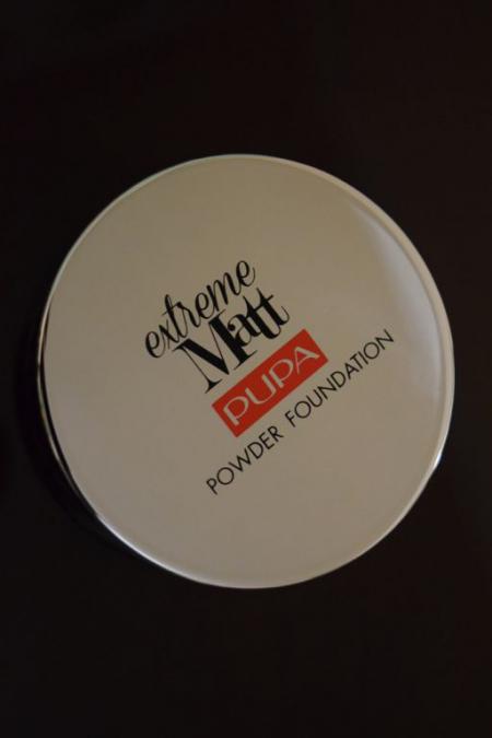 Компактная пудра Extreme Matt powder foundation (оттенок № 020) от Pupa