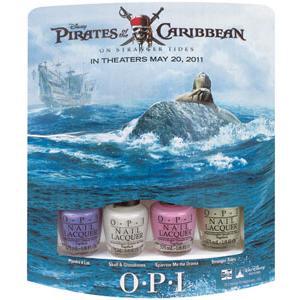 "Мини-лаки ""Pirates of the Caribbean"" (NLP13, NLP15, NLP16, NLP17) от OPI"