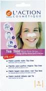 Очищающие полоски для носа с экстрактом чайного дерева от L'action cosmetique