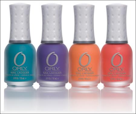 Лак для ногтей Plastix оттенок Purple Pleather от Orly