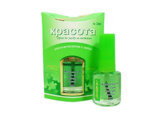 Антисептическое масло для кутикулы с мятой от Severina