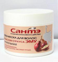 Крем-маска для волос питательная от Кора