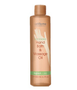 Смягчающая ванночка и массажное масло для рук 2-в-1 от Oriflame
