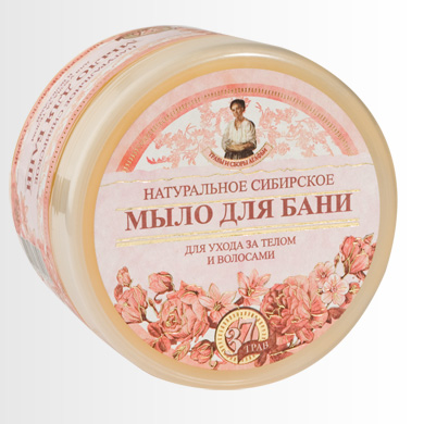 Цветочное мыло для ухода за телом и волосами (Специальная серия-Травы и сборы) от Рецепты бабушки Агафьи