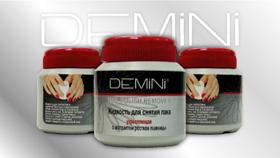 Жидкость для снятия лака от Demini